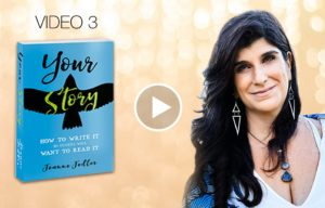 Why is writing our stories healing by Joanne Fedler