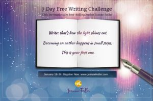 7 Day Free Writing Challenge 1