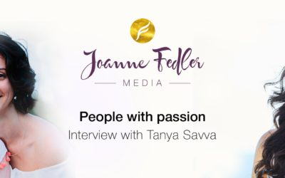 People with Passion Interview with Tanya Savva
